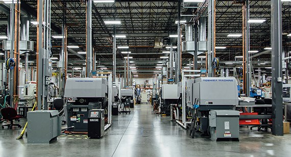 Rosemount injection molding facility